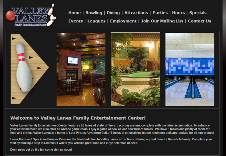 Valley Lanes Entertainment